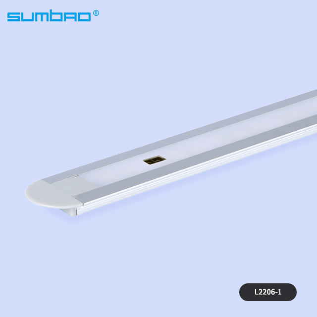 L2206 8M/M led SMD motion wardrobe led sensor light led strip tube white warm light kitchen cabinet closet bed lamp night ultra-thin design