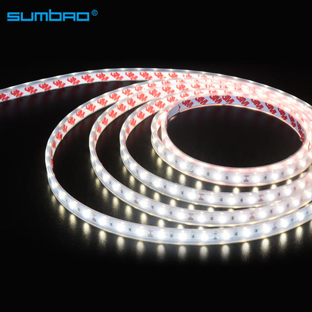 Low voltage12v 24v flexible led strip 60led/meter  120led/meter decorative light waterproof corridor garden hotel room bar stair indoor