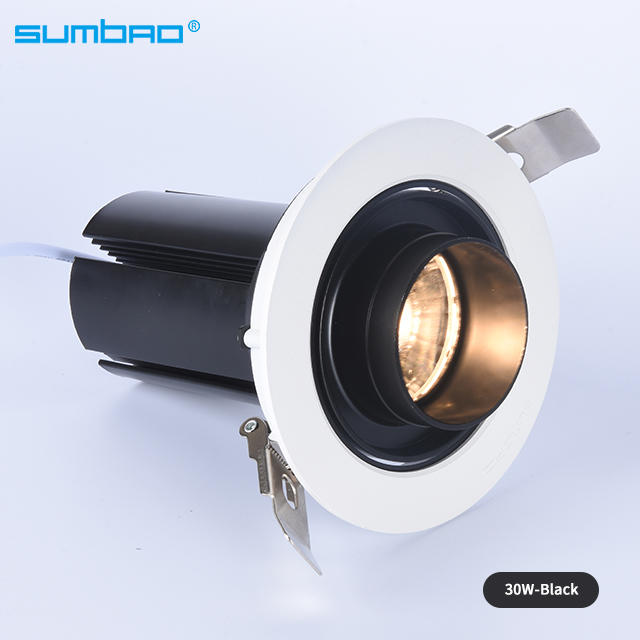 DW045 Recessed Spotlight 18w 30w SMD COB Led Spotlight for Clothing Mart