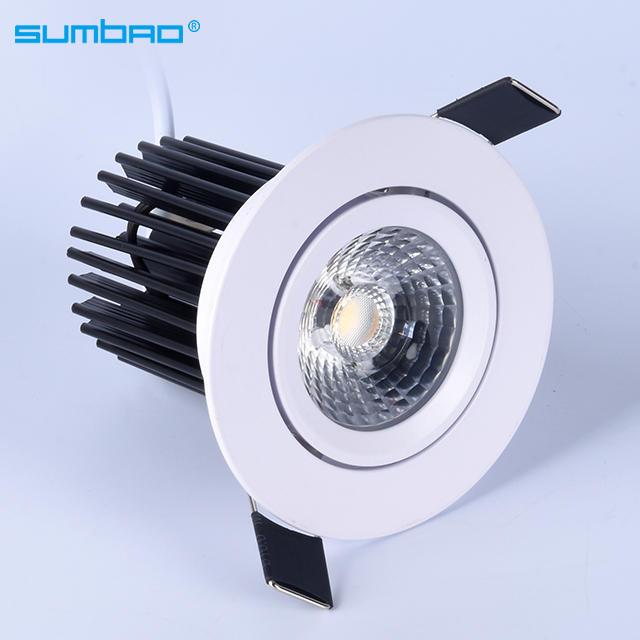 DW066 IP20 CCT Adjustable LED Recessed Spotlight SMD 10W Recessed Dimmable LED Spotlight Australian Approved SAA