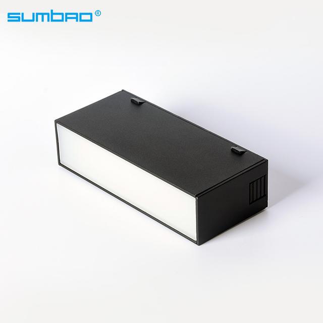 YDHCX-A hot sale 48v led magnetic track light  7w 10w 20w adjustable rail track light linear light magnetic track