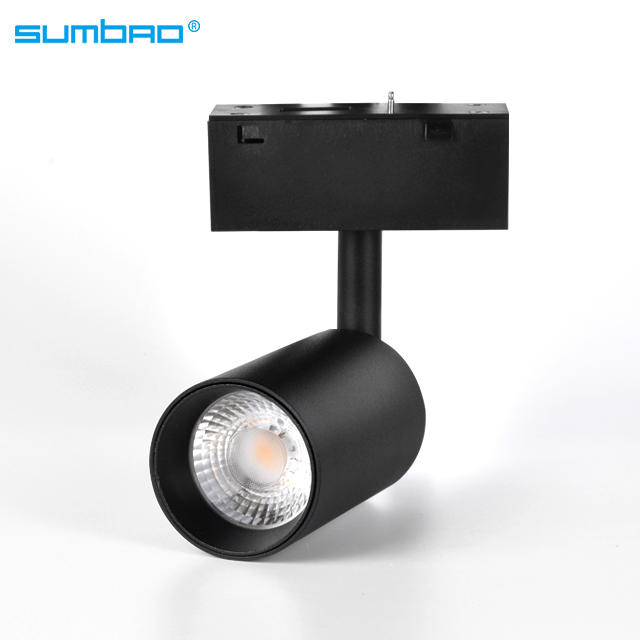 YDHCX-F1 new design 48v slim 5W 10W led magnet track light for shop