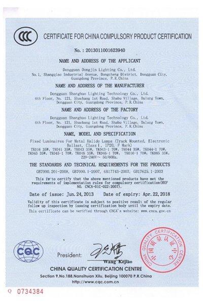 The Compulsory Product Certification 4