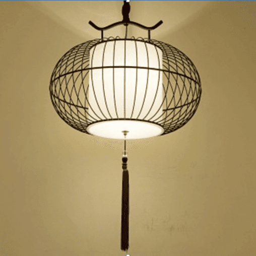 Chinese cage lamp