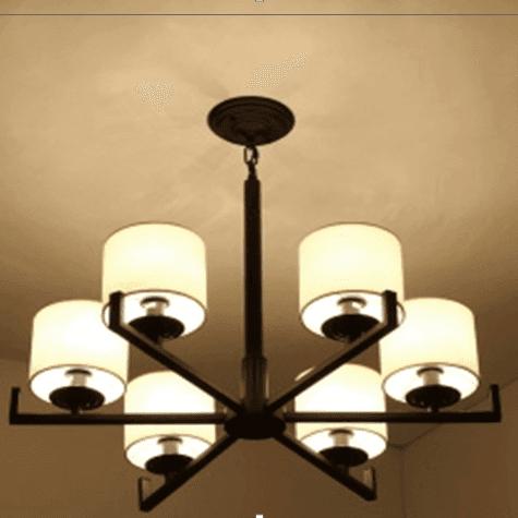 Chinese style pendant lamp