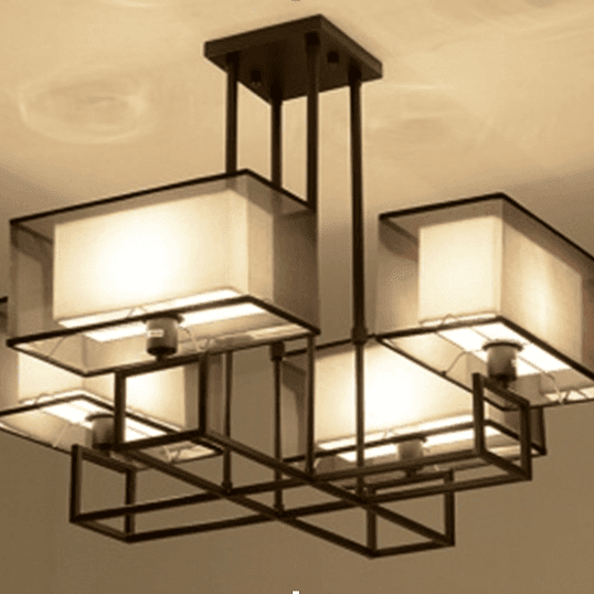 Chinese style ceiling lamp