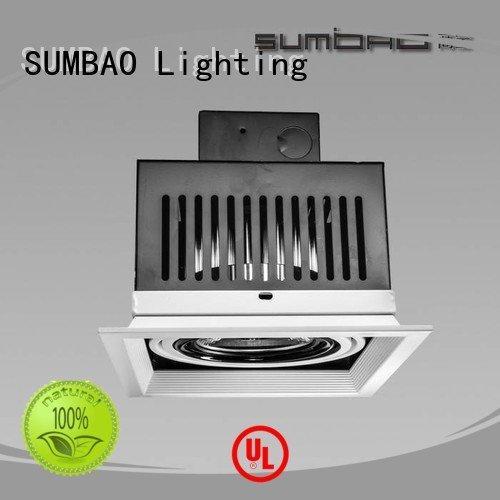 square dw0302 recessed SUMBAO LED Recessed Spotlight