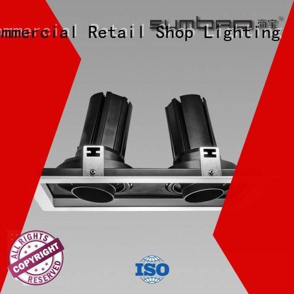 Custom retail LED Recessed Spotlight 485x180x147mm 4 inch recessed lighting