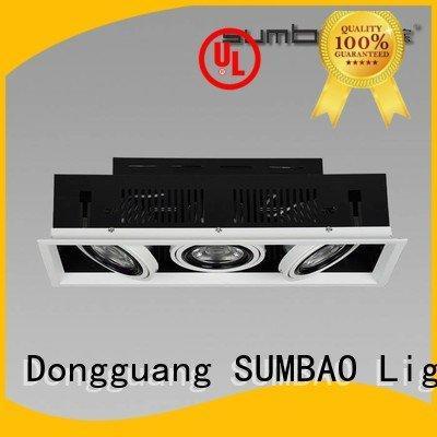 spotlights commercial Supermarket round SUMBAO LED Recessed Spotlight