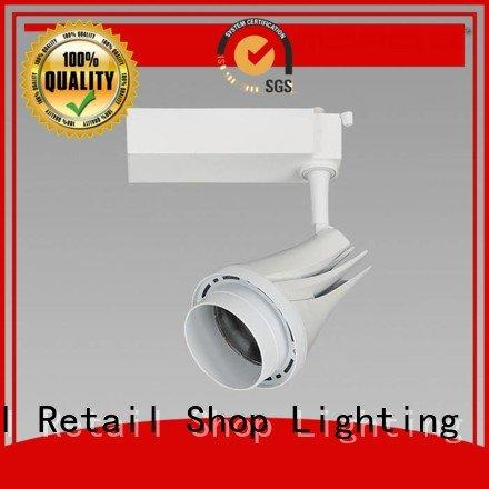 Custom Furniture store LED Track Spotlight Exhibition room track light bulbs