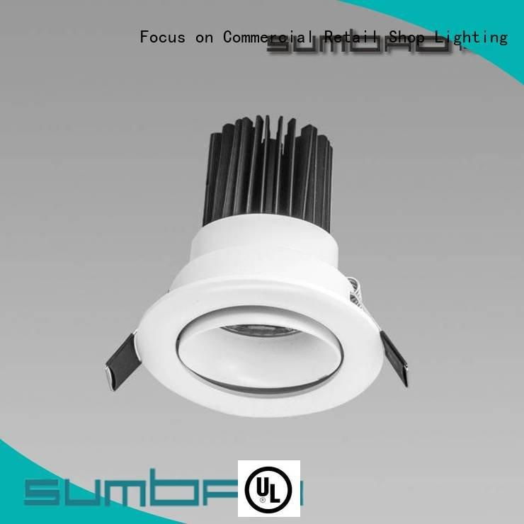 recessed puck lights Exhibition room LED Recessed Spotlight SUMBAO