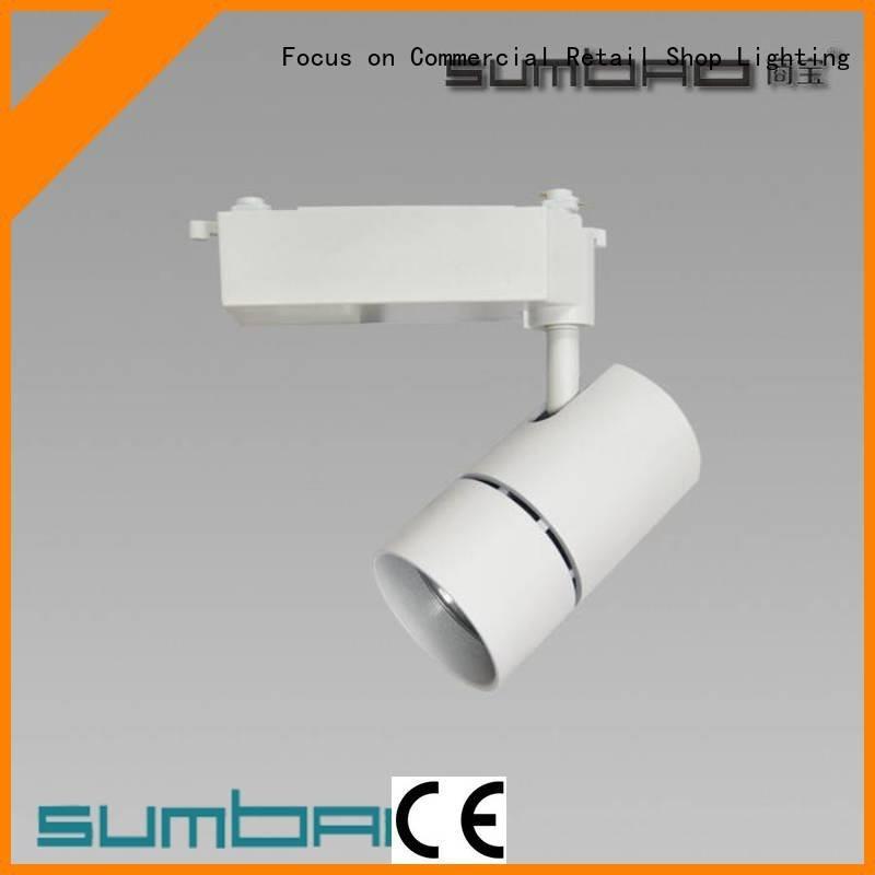 Quality track light connector SUMBAO Brand Specification grade AL LED  Spotlight