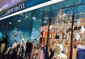 Sumbao lighting warmly congratulations (SHOWY&CO.) Shenzhen clothing store grand opening