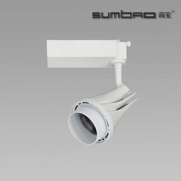 TK037 SUMBAO Lighting Best Seller High Lumen High Brightness Best Quality Distinctive Design 30W Commercial LED Track Spotlight