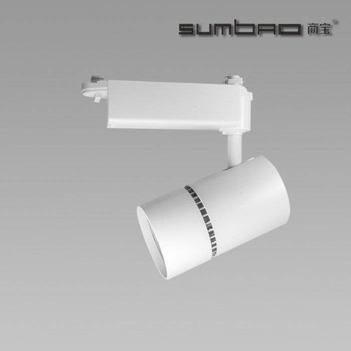 TK051 SUMBAO Lighting track spotlight for high end retail store application ideal for accent lighting,10w/18w/24w, 12°/15°/20°/3