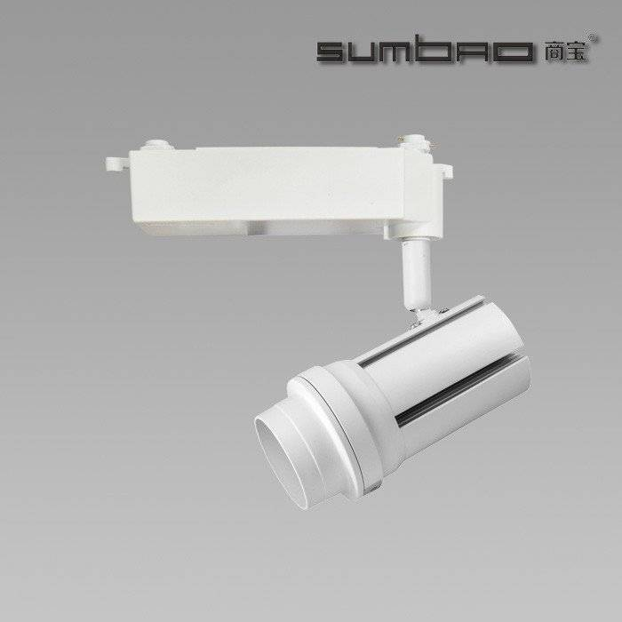 TK050 SUMBAO Lighting Dimmable Imported COB Chip Led 24W Track Light, High CRI Smart Appearance Showcase Track Lighting
