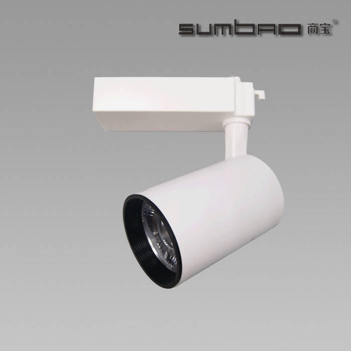 TK064 SUMBAO Lighting track spotlight for high end retail store application ideal for accent lighting 18W/24W with wide range of