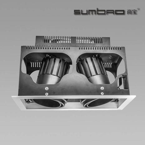 DW028-2 SUMBAO多头LED灯具是零售重点照明的理想选择