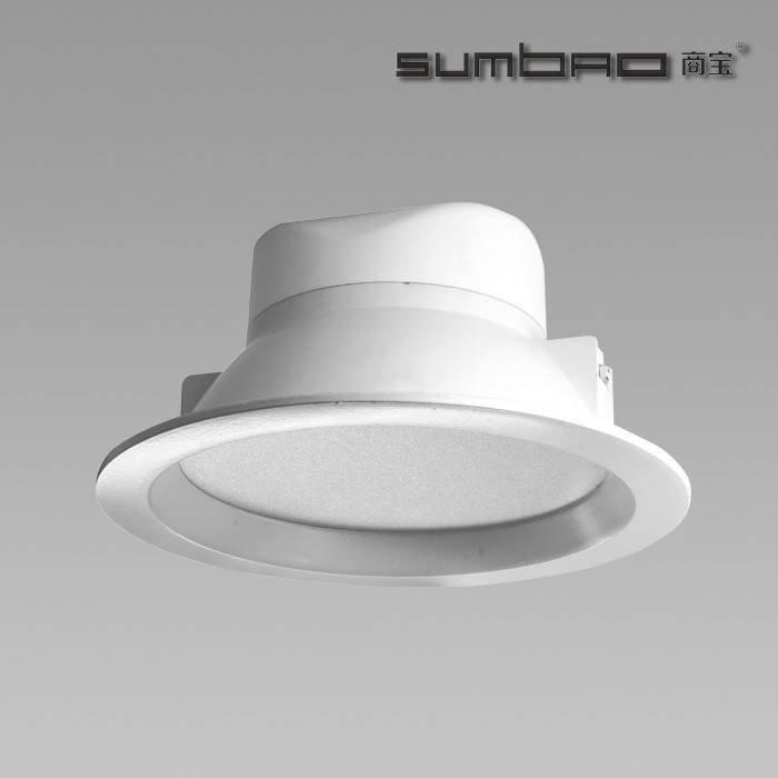 "FL016 SUMBAO照明5""COB芯片LED天花灯10W 110°光束角适用于环境照明应用"