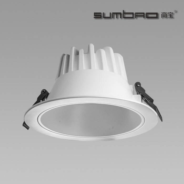 FL018 SUMBAO照明进口COB芯片LED筒灯24W用于环境照明应用