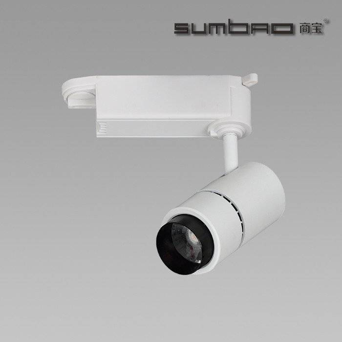 TK011 SUMBAO Lighting track spotlight for high end retail store application ideal for accent lighting,10W,13°/20°/38°/60°