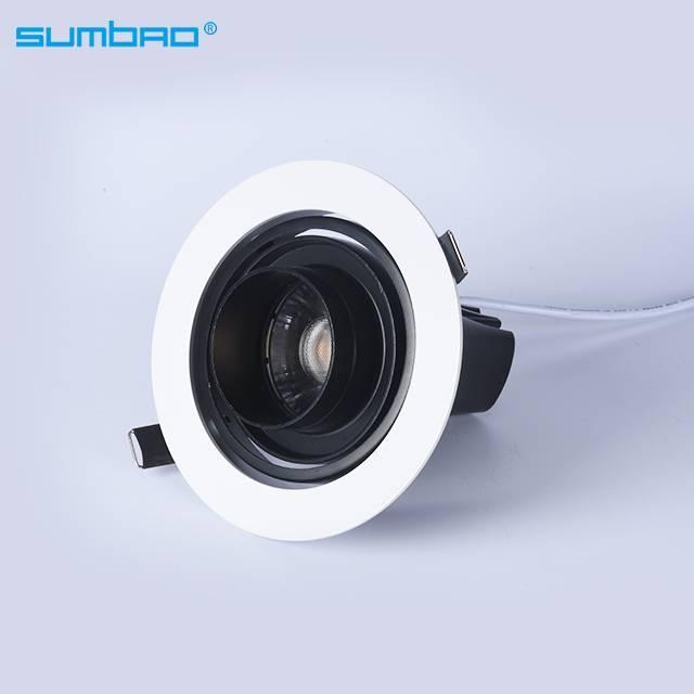 DW038 15W 18W mini round LED recessed spotlight