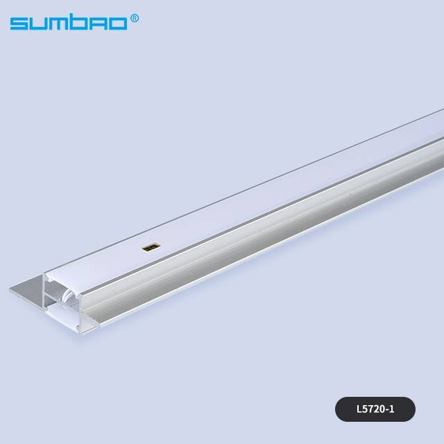 L5720-1/L5720-2 China supplier 8w/meter double-sided light SMD hand sweep motion sensor led strip tube warm wardrobe kitchen cabinet closet