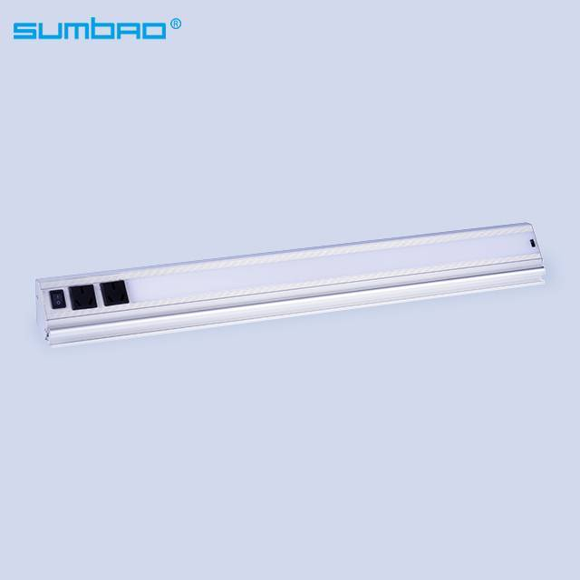 L6645 China high quality 8w/meter led SMD hand sweep sensor led strip tube white warm wardrobe kitchen cabinet closet bed night