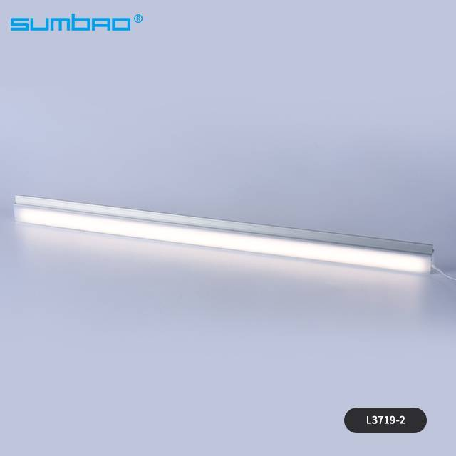 L3719-1, L3719-2 factory 16w/meter led SMD motion sensor light led strip tube white warm mirror wardrobe kitchen cabinet closet bed night