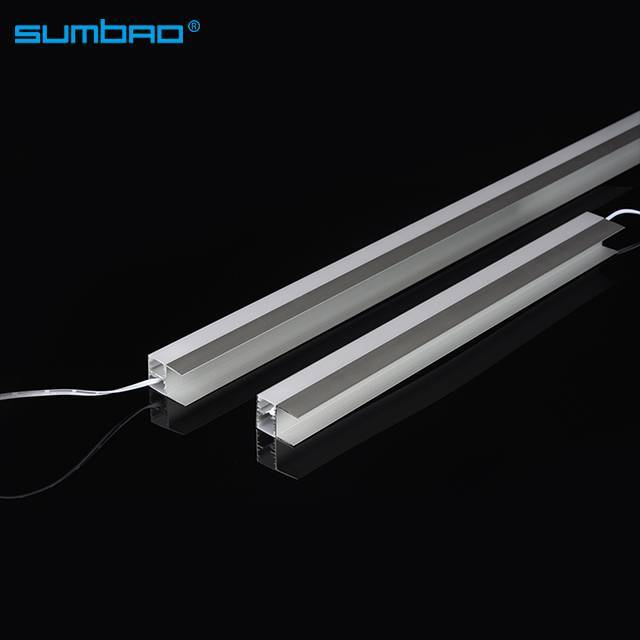 L2026 16W/Meter led SMD motion wardrobe led sensor light led strip tube kitchen cabinet closet bed lamp night double side lighting