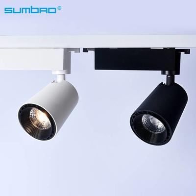 TK061 12w COB led track spotlight adjustable dimming bluetooth remote control lighting 3 phase anti-glare office living room house