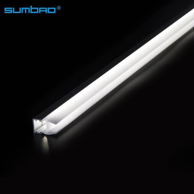 WG067 factory Led Light Tube 12w/m 30cm to 200cm 3000k 4000k Glass Cabinet