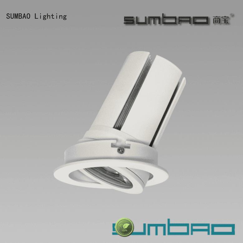 application dw0521 cob SUMBAO LED Recessed Spotlight