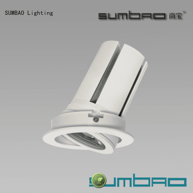 application dw0521 cob SUMBAO LED Recessed Spotlight