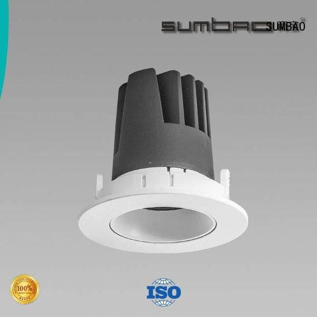 4 inch recessed lighting dw075 24w grid SUMBAO