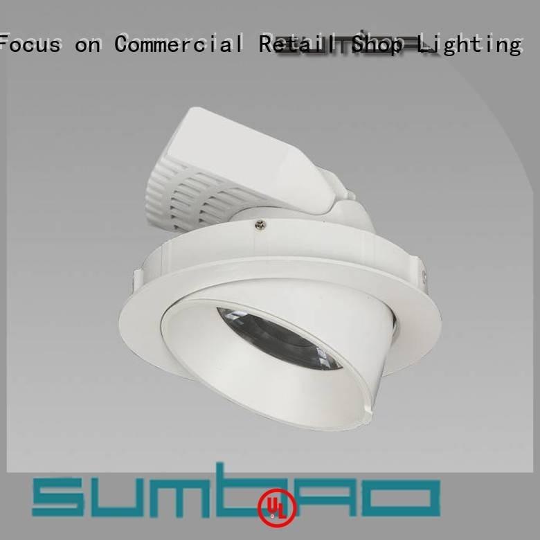 4 inch recessed lighting Clothing store dw0312 3500K SUMBAO