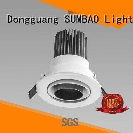 Quality 4 inch recessed lighting SUMBAO Brand 12° LED Recessed Spotlight