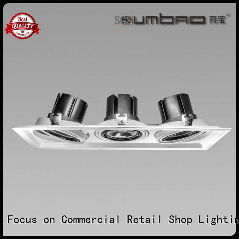 Custom dw0303 LED Recessed Spotlight desk 4 inch recessed lighting