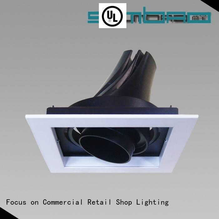 4 inch recessed lighting 33° 3x10W/3x18W LED Recessed Spotlight SUMBAO Brand