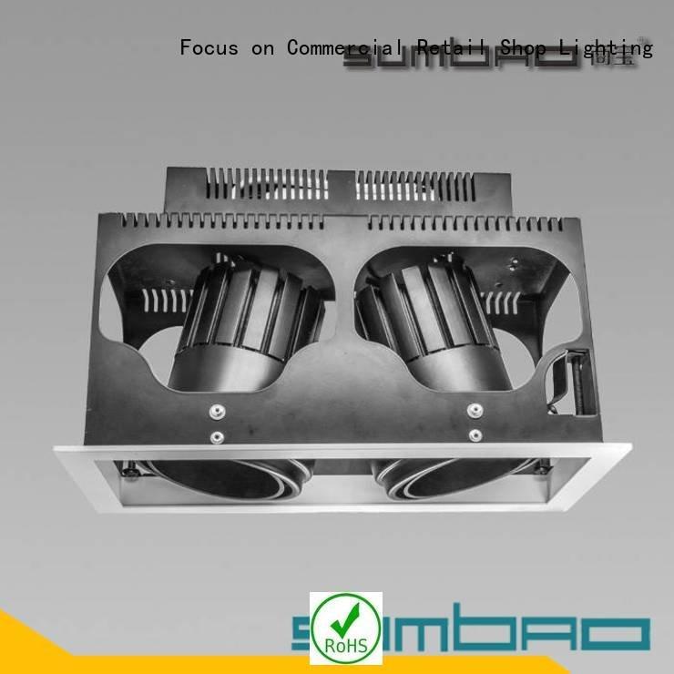 Quality 4 inch recessed lighting SUMBAO Brand dw0721 LED Recessed Spotlight