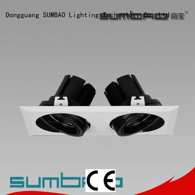 Hot recessed spot light fittings dw0522 application trim SUMBAO Brand