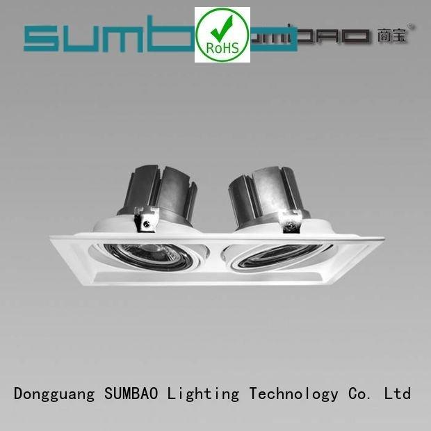 SUMBAO 4 inch recessed lighting downlighting 5000K shops