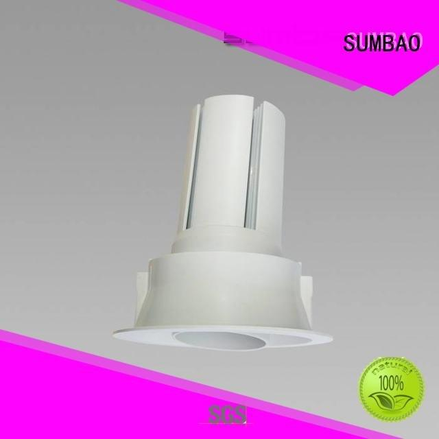 Quality 4 inch recessed lighting SUMBAO Brand 3x10W/3x18W LED Recessed Spotlight
