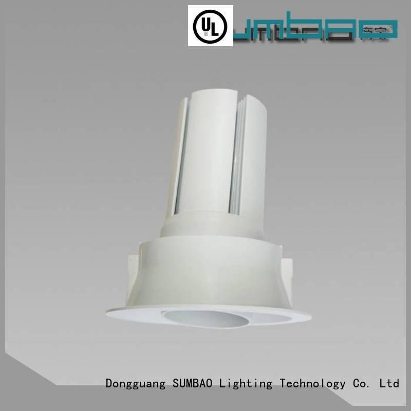 halo recessed lighting fixtures professional retail LED Spotlight SUMBAO Brand