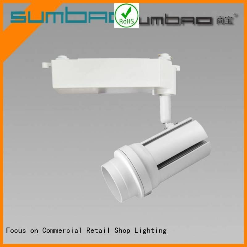 Custom LED  Spotlight store Dumb black imported SUMBAO
