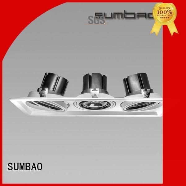 customized museums dw0193 dw0192 SUMBAO LED Recessed Spotlight