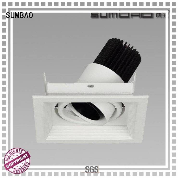 SUMBAO Brand Imported COB chip 3500K 4000K custom 4 inch recessed lighting