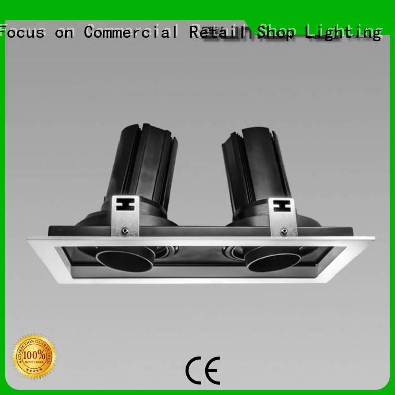 Dumb white square 33° 4 inch recessed lighting SUMBAO