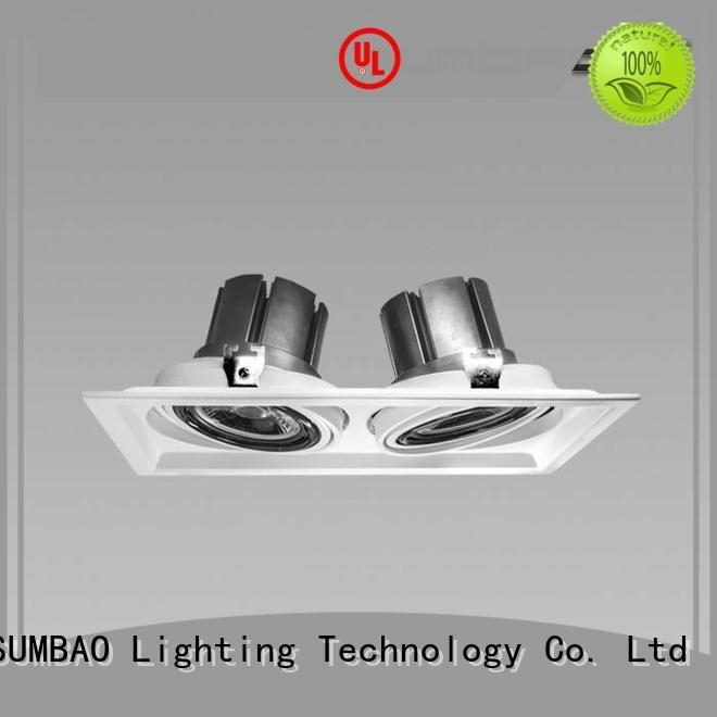SUMBAO 4 inch recessed lighting 3500K Specification grade AL Imported COB chip