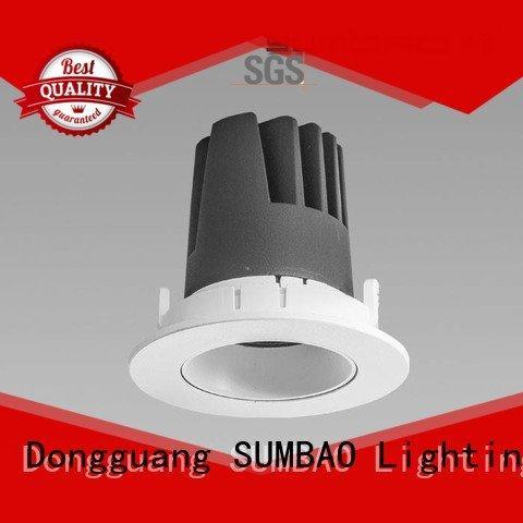 SUMBAO LED Recessed Spotlight dw0283 12° 5000K application